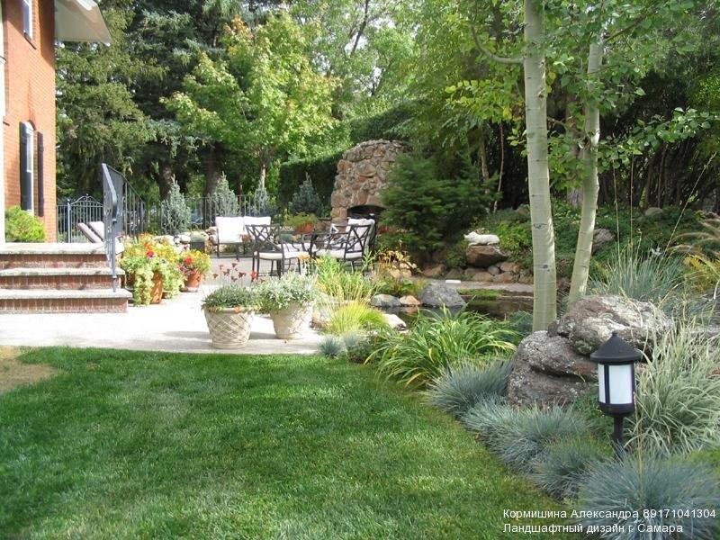 Стили оформления сада и участка